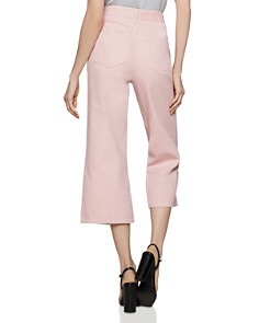 BCBGENERATION - Cropped Wide-Leg Jeans in Rose Smoke