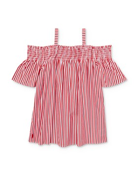 a1d26ad3b2 Ralph Lauren - Girls' Striped Off-the-Shoulder Top - Big Kid