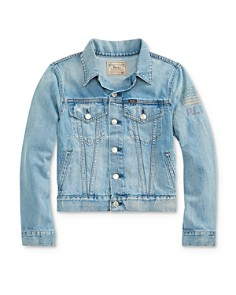 Ralph Lauren - Boys' RL 67 Denim Trucker Jacket - Big Kid