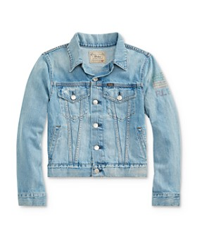 fddaaf4e Ralph Lauren - Boys' RL 67 Denim Trucker Jacket - Big Kid ...