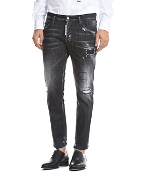 DSQUARED2 - Skater Skinny Fit Jeans in Black
