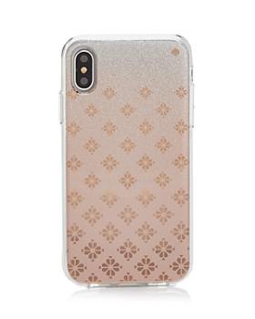kate spade new york - Spade Ombré Flower iPhone XR & XS Max Case