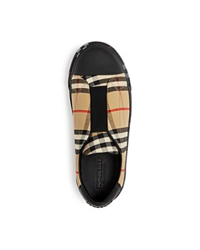 Burberry - Unisex Belside Slip-On Sneakers - Toddler, Little Kid