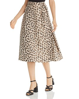 Joie - Collen Printed Wrap Skirt