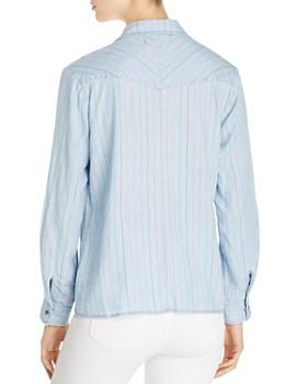 Billy T - Striped Chambray Shirt