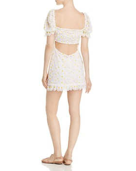 For Love & Lemons - Brulee Daisy Mini Dress