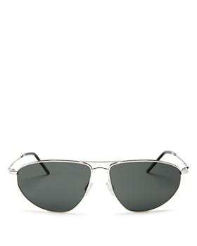 Oliver Peoples - Men's Kallen Brow Bar Aviator Sunglasses, 62mm