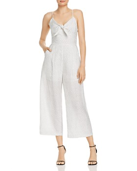 Lost and Wander - Estrella Printed Tie-Detail Jumpsuit