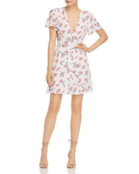 Rahi - Electric Zia Floral-Print Mini Dress