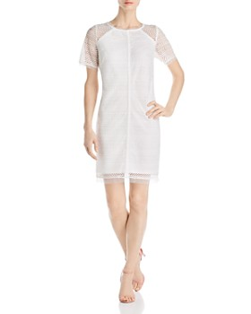 b0bd1a7f Adrianna Papell - Lace Shift Dress - 100% Exclusive ...