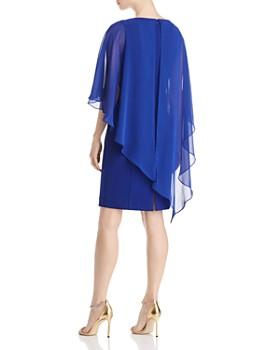 Eliza J - Sheer Overlay Dress