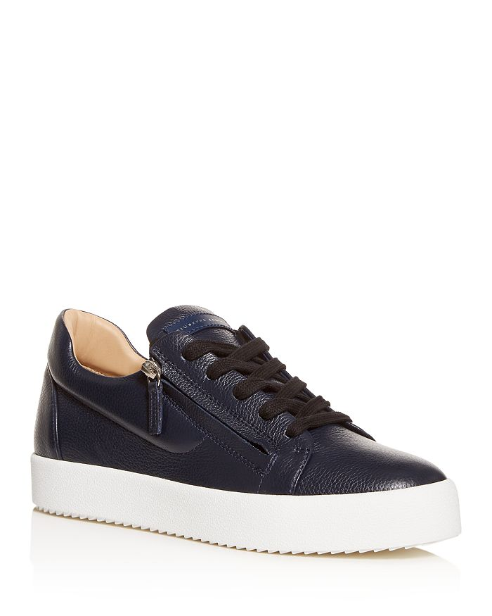 Giuseppe Zanotti - Men's Leather Low-Top Sneakers