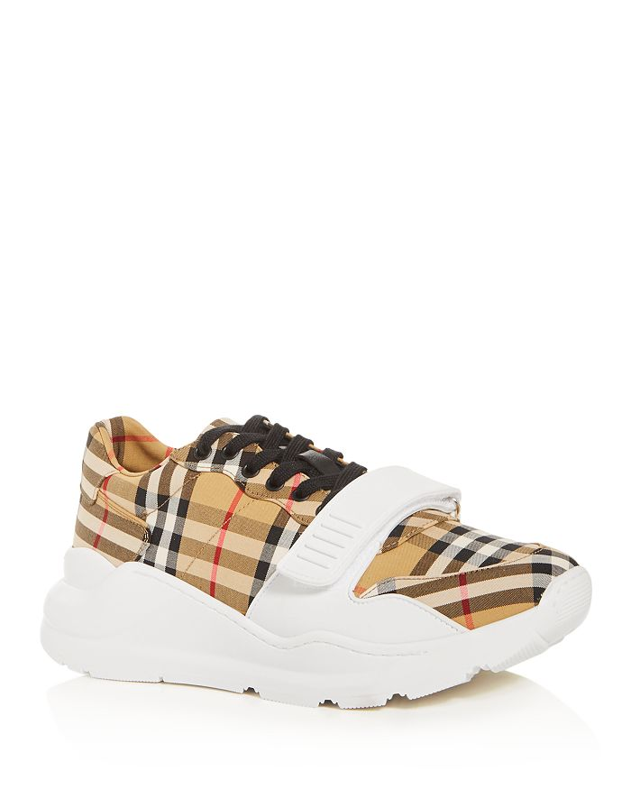 Burberry - Men's Regis Vintage Check Low-Top Sneakers