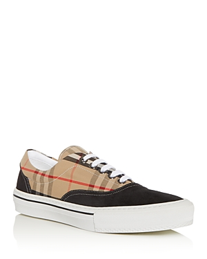 Burberry Men's Wilson Low-Top Sneakers