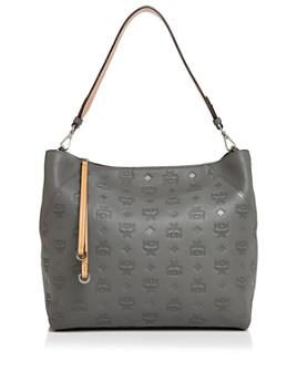 MCM - Klara Monogrammed Leather Hobo
