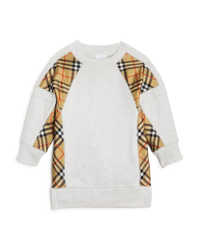 Burberry - Girls' Wanda Sweatshirt Dress - Little Kid, Big Kid