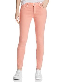 e6ad910f1e4cb AG - Ankle Legging Jeans in Hi White Peach Quartz ...