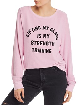 WILDFOX - Strength Training Sweatshirt - 100% Exclusive