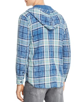 John Varvatos Star USA - Grayson Hooded Reversible Regular Fit Shirt