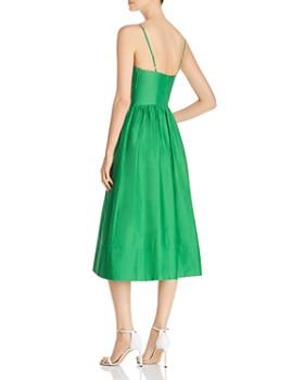 kate spade new york - Tie-Front Midi Dress