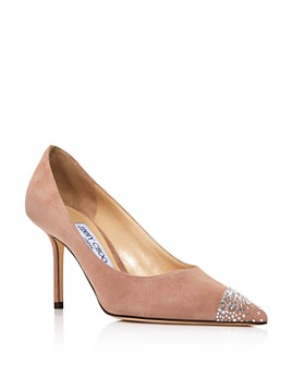 Jimmy Choo - Women's Love 85 Embellished Pointed-Toe Pumps