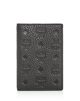 MCM - Max Embossed Leather Mini Card Case