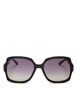 Jimmy Choo - Women's Sammi Polarized Square Sunglasses, 55mm - 100% Exclusive