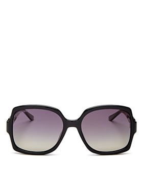 Jimmy Choo - Women's Sammi Polarized Square Sunglasses, 55mm - 100% Exclusive