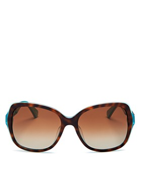 kate spade new york - Women's Karalyn Square Sunglasses, 56mm