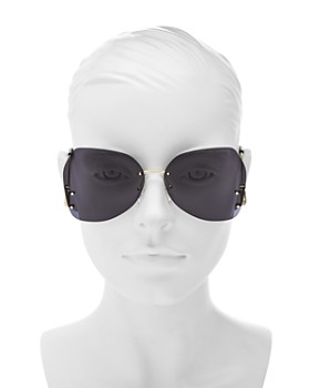 MARC JACOBS - Women's Marc Rimless Butterfly Sunglasses, 63mm