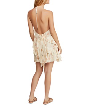 Free People - Sunlit Seashell Print Mini Dress
