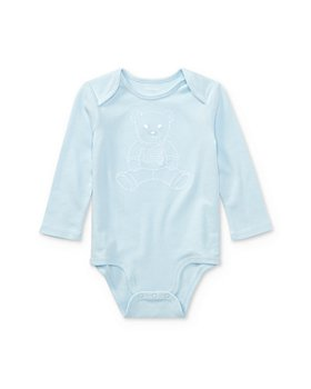Ralph Lauren - Boy's Embroidered Polo Bear Bodysuit - Baby