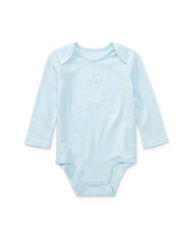 Ralph Lauren - Boy's Embroidered Polo Bear Bodysuit - Baby