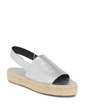 Whistles - Women's Nile Slingback Espadrille Platform Sandals