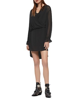 486c73f91c3 ALLSAINTS - Penny Layered-Look Dress ...