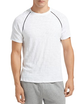 ATM Anthony Thomas Melillo - Contrast-Trimmed Slub-Knit Raglan Tee