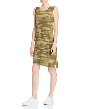 Current/Elliott - The Camo Muscle Tank Dress