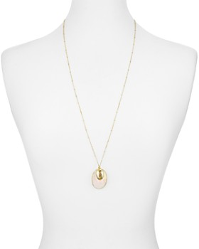 Argento Vivo - Seychelle Mother-of-Pearl Pendant Necklace in 18K Gold-Plated Sterling Silver, 30""
