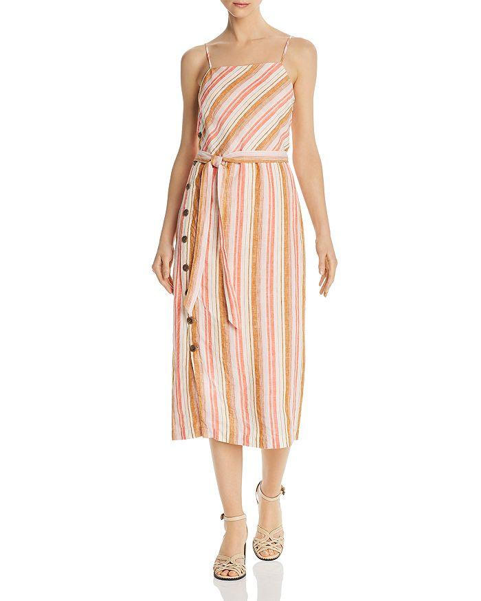 Joie - Khari Striped Midi Dress