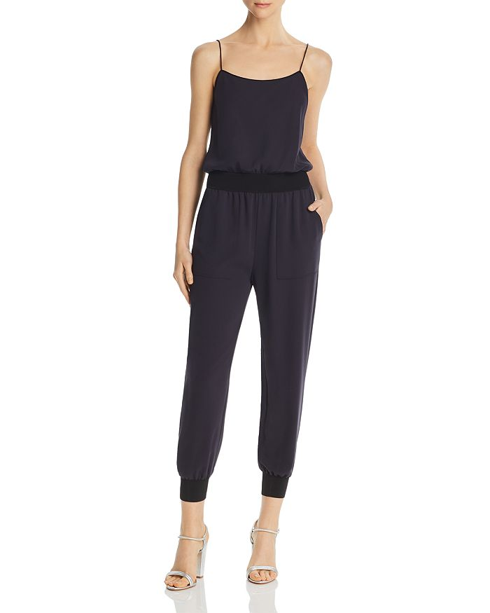 Theory - Cropped Blouson Jumpsuit