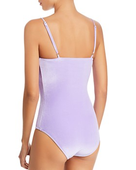 Paper London - Sting Ray Velvet One Piece Swimsuit