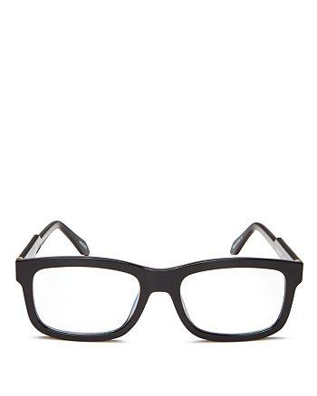 Quay - Unisex Beatnik Square Blue Light Glasses, 41mm