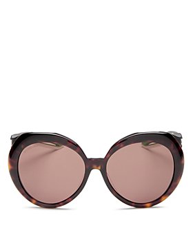 Balenciaga - Women's Round Sunglasses, 56mm