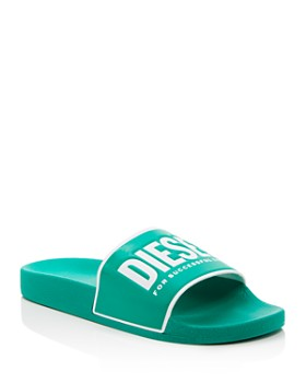Diesel - Men's Sa-Valla Logo Slide Sandals