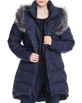 The North Face® - Dealio Faux Fur-Trim Down Parka