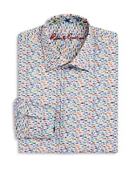 Robert Graham - Boys' Neat Fish Dress Shirt - Big