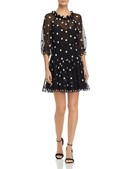 Rebecca Taylor - Dot Embroidered Mini Dress