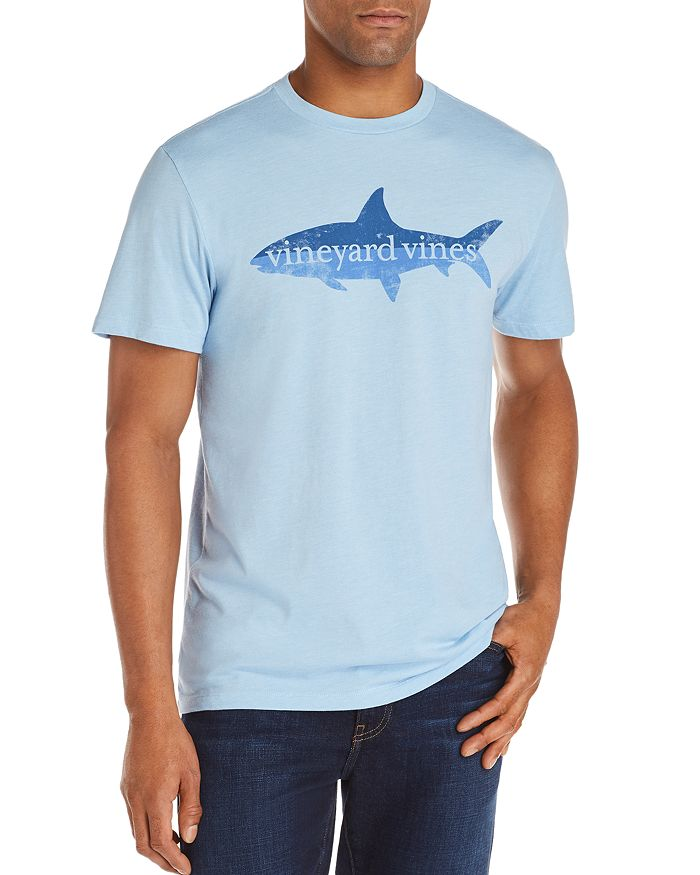 3dc019fb5 Vineyard Vines Bonefish High Low Island Logo Graphic Tee ...