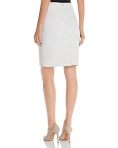 BOSS - Vilea Tonal Houndsooth Pencil Skirt