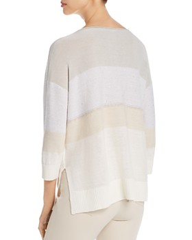Lafayette 148 New York - Embellished Lightweight Sweater
